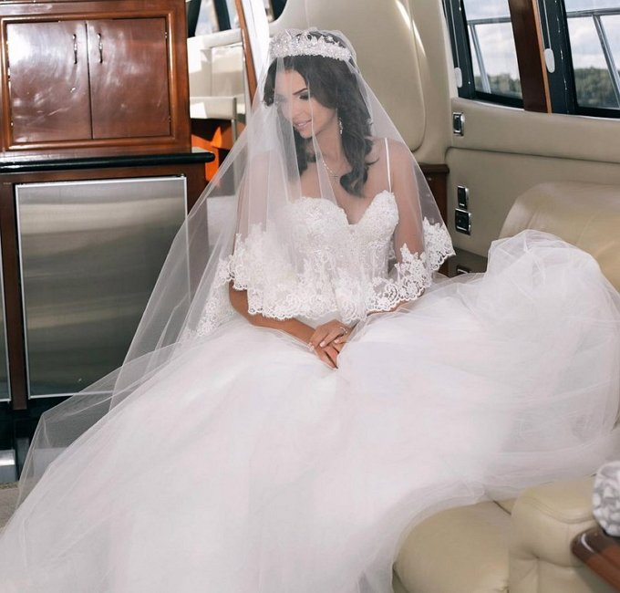 Элла суханова в свадебном платье