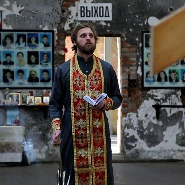 Олеся Лисовская защищает репутацию бывшего священника